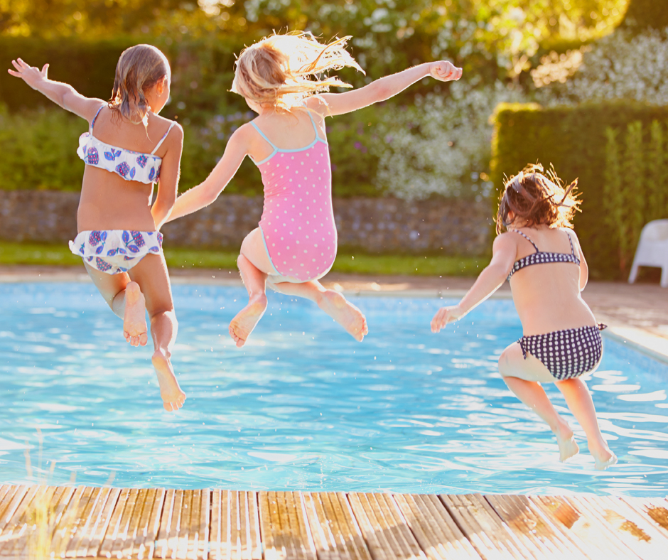 Public Swimming Pools Offer Hours of Family Fun.