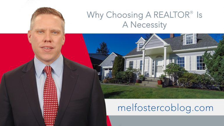 Why choosing a REALTOR is a Necessity