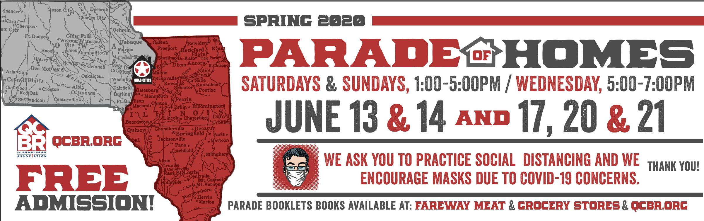 Parade of Homes Spring 2020