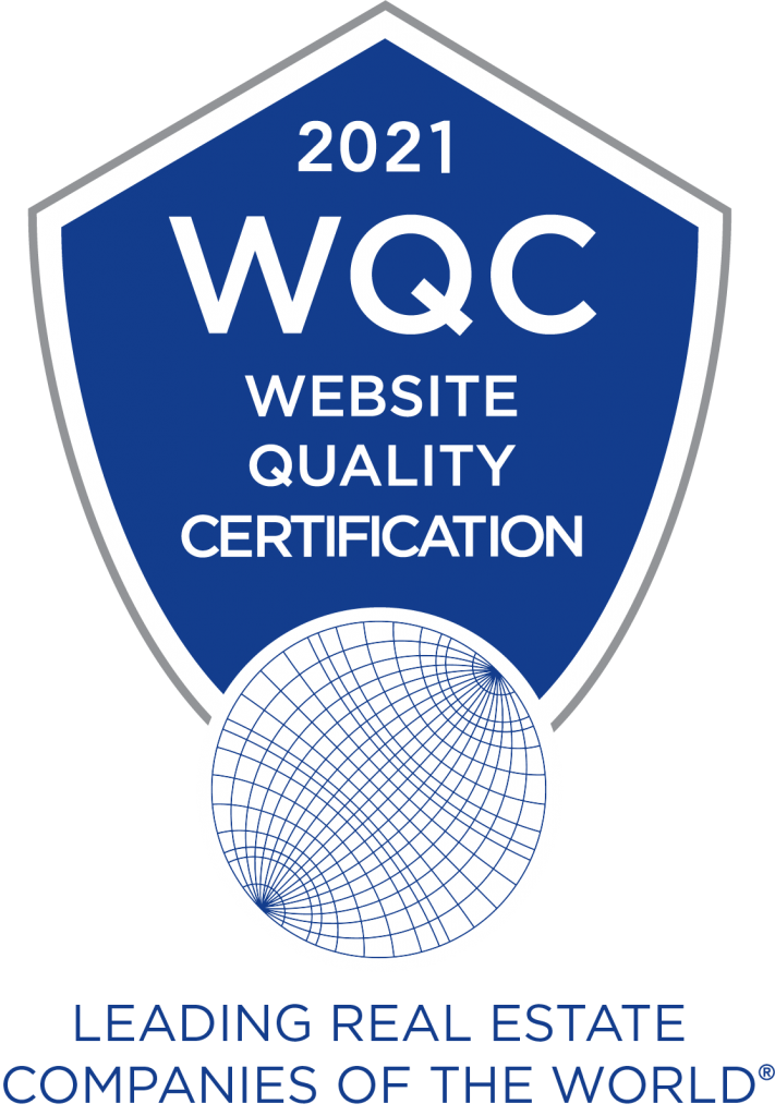 Leading Real Estate Companies of the World® Website Quality Certification logo