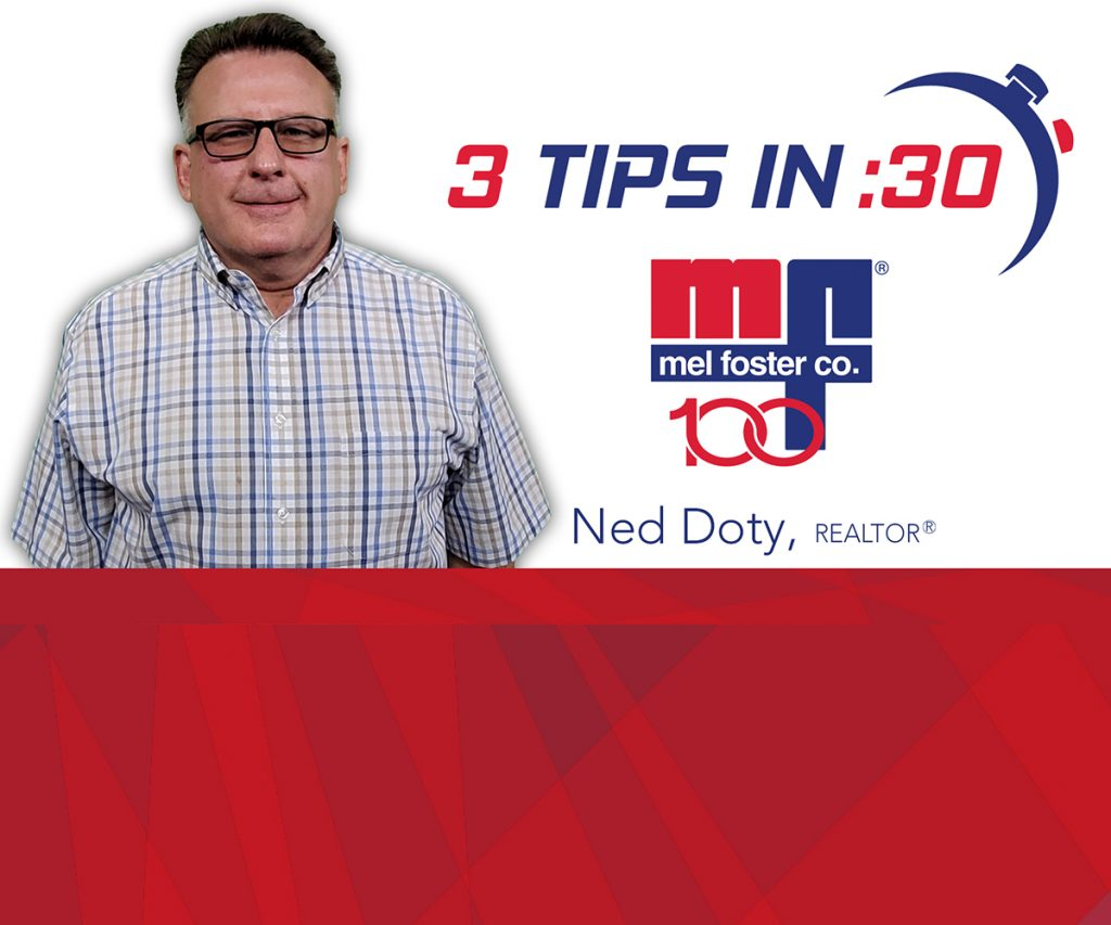 Tips in 30 by Ted Noty of Mel Foster Co.